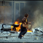 1992 : Siege of Sarajevo; mortar attack by Serb forces.