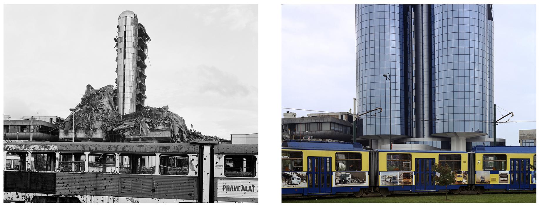 Oslobodjene in Sarajevo, 1996 & 2005.