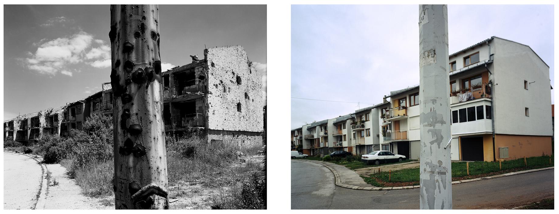 Dobrinja quarter of Sarajevo.